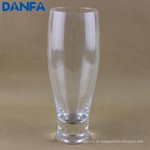 400ml vidro de cerveja soprado boca / vidro Pilsner (bg013)