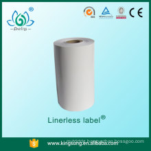 Wholesale alibaba trade assurance linerless label for supermarket