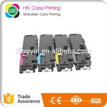 Cartuchos de tóner compatibles Conjunto negro cian magenta amarillo para DELL C2660 C2660dn C2665dnf 593-Bbbu 593-Bbbt 593-Bbbs 593-Bbbr