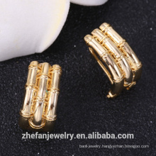 Gold plated earring stud wholesale jewelry women fashion earring