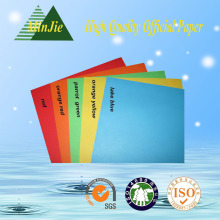 80GSM Colorful Offset Printing Paper A4 Size Paper