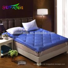 Hotel Linen /White waterproof cold resistant coral fleece mattress protector