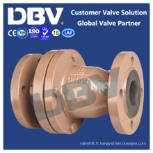 Wcb Ruban doublé Flanged Swing Check Valves