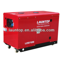 4-stroke,air-cooled, twin-cylinder silent 10kw generator with three phase