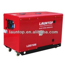 4-тактный, с воздушным охлаждением, двухцилиндровый бесшумный генератор мощностью 10 кВт с двигателем Lombardini