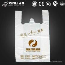 Фабричная цена подгонянная покупка пластиковый мешок T-Shirt