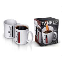 Anúncio de venda quente Copo Ceramic barato feito sob encomenda, copo de café cerâmico