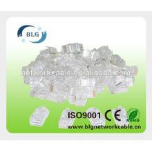Shenzhen cabo de rede plug 8p8c utp rj45 plug