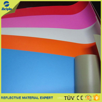 High Quality Colour Reflective PVC Synthetic Leather For Bags/Shoes