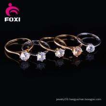 Women Cubic Zirconia Engagement Wedding Ring