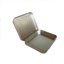 Boîte à comprimés en métal personnalisée, boîte à mini piles, boîte à pilules portable