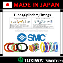 ISO standard approved tubing, cylinder, fittings for longer service life. Manufactured by SMC & CKD. Made in Japan