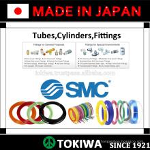 Tubo aprovado ISO, cilindro, acessórios para uma vida útil mais longa pela SMC & CKD. Feito no Japão (válvula de válvula pneumática de válvula solenóide de 5/2)