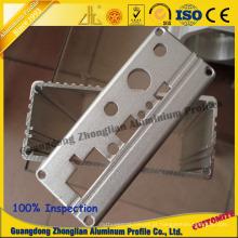 Extrusão de Alumínio com Processamento Profundo CNC para Caixa Eletrônica
