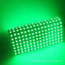 Los 16cm * 16cm P10 / 8cm * 32cm matriz llevada RGB flexible, pantalla llevada papel del pc ws2811 del pcb negro