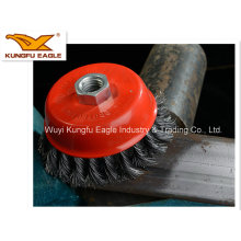 90mm/100mm/115mm Stainless Steel Wire Cup Brush