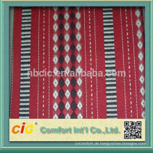 Rotes Auto Jacquard Polsterstoff