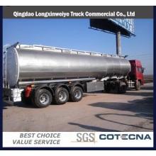 2016 remolque caliente del tanque de combustible 45m3 con el precio bajo
