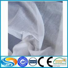 100% Algodão Material e artigos em estoque Fornecimento tecido voile cinza