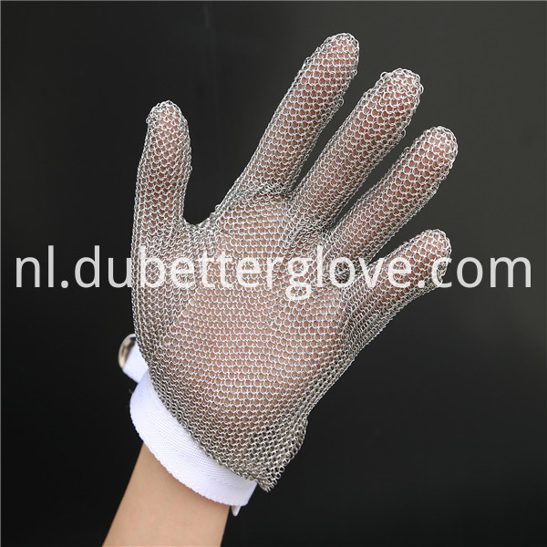 stainless steel metal mesh gloves 2