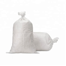 25kg Polypropylene 50kg Raw Material Recycled Polypropylene Woven Bag Reusable China PP Plastic Woven Bags