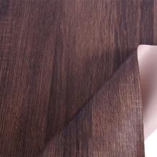 Papel decorativo de impresión de grano de madera para caja de paquete