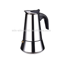 High Quality Cooking Stainless Steel Stovetop Moka Pot Espresso Coffee Maker