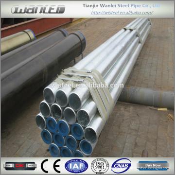 Api 5l gr.b ms galvanizado água tubo de aço