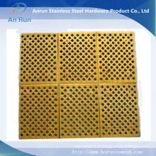 Produits de métaux perforés en cuivre de Chine