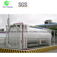 Horizontal Type LNG Container Gas Station Container