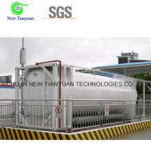 Контейнер для контейнеров для контейнеров типа LNG