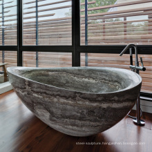 china factory home decoration best selling marble bathroom stone bathtub