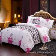 Cheap China Factory Supplier Printed Cotton Satin Bedding Sets