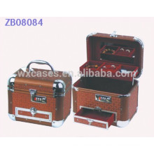New arrival luxury aluminum jewelry box with one drawer