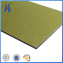 Nano Aluminio Compsite Panel para el tablero de techo