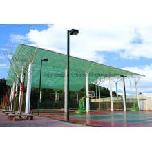 Marco de techo de luz de acero de techo para el edificio de bádminton