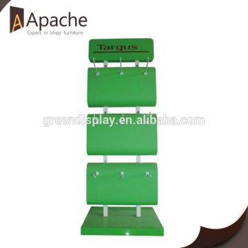 Sample available market snack hanging display rack