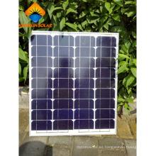 50W de alta potencia potente panel fotovoltaico mono cargador solar