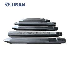 hydraulic rock breaker chisel tool,hydraulic breaker spare parts,hydraulic breaker tools  hydraulic rock breaker chisel tool