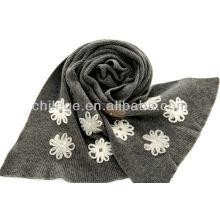 Mesdames mode tricot écharpes brodées