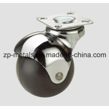 Rubber/PVC Swivel Ball Caster Wheel