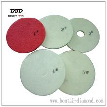 "Diamond fiber pad 17"", good and flexible"