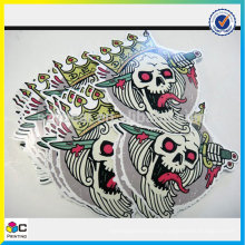 Hot sale custom 3d wall vinyl label sticker printing