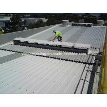 Panel de plástico corrugado de construcción moderna