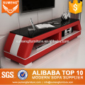 SUMENG 2017 latest design classic tv stand stainless steel legs in TV stands