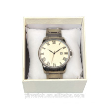Fashion OEM custom waterproof men movt quartz watch