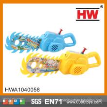 2015 juguetes promocionales vendedor caliente del juguete del arma de agua de la motosierra para los cabritos
