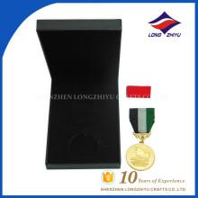 Оптовой высокое качество пользовательских металла медали с коробками