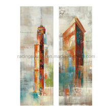 Wand-Kunst-Landschaft-Segeltuch-Druck-abstraktes Ölgemälde auf Segeltuch