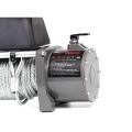 Treuils électriques à câble en acier de couleur grise 12V 12000lbs